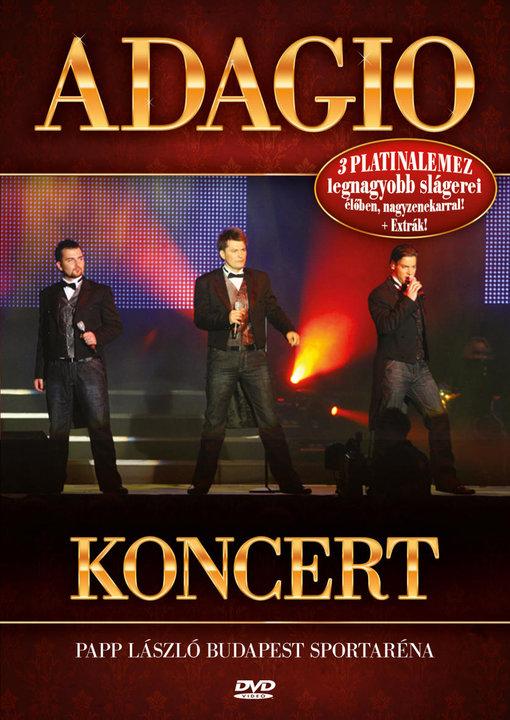 Adagio Koncert DVD
